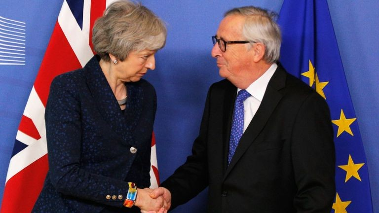 Theresa-May-and-Juncker