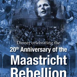 Dinner celebrating the 20th Anniversary of the Maastricht Rebellion