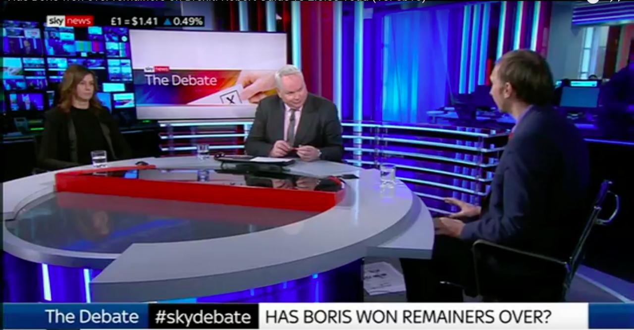 Robert Oulds vs Eloise Todd: A Brexit Debate